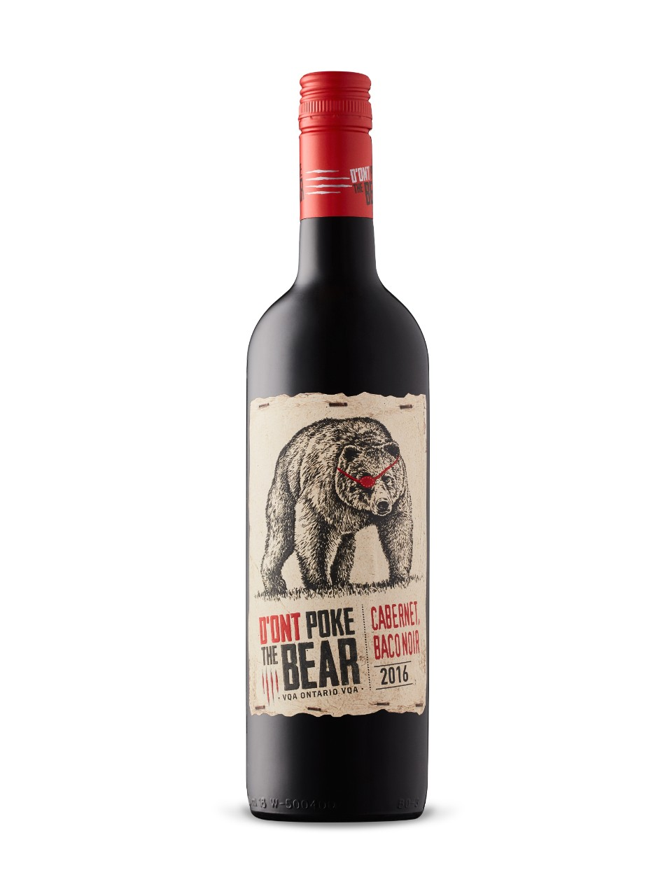 D'Ont Poke The Bear Rouge VQA