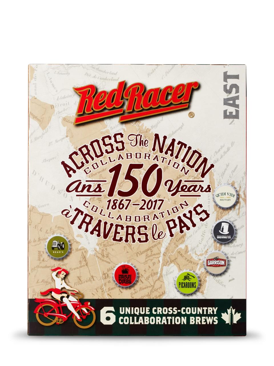 Red Racer Across the Nation Collaboration - East