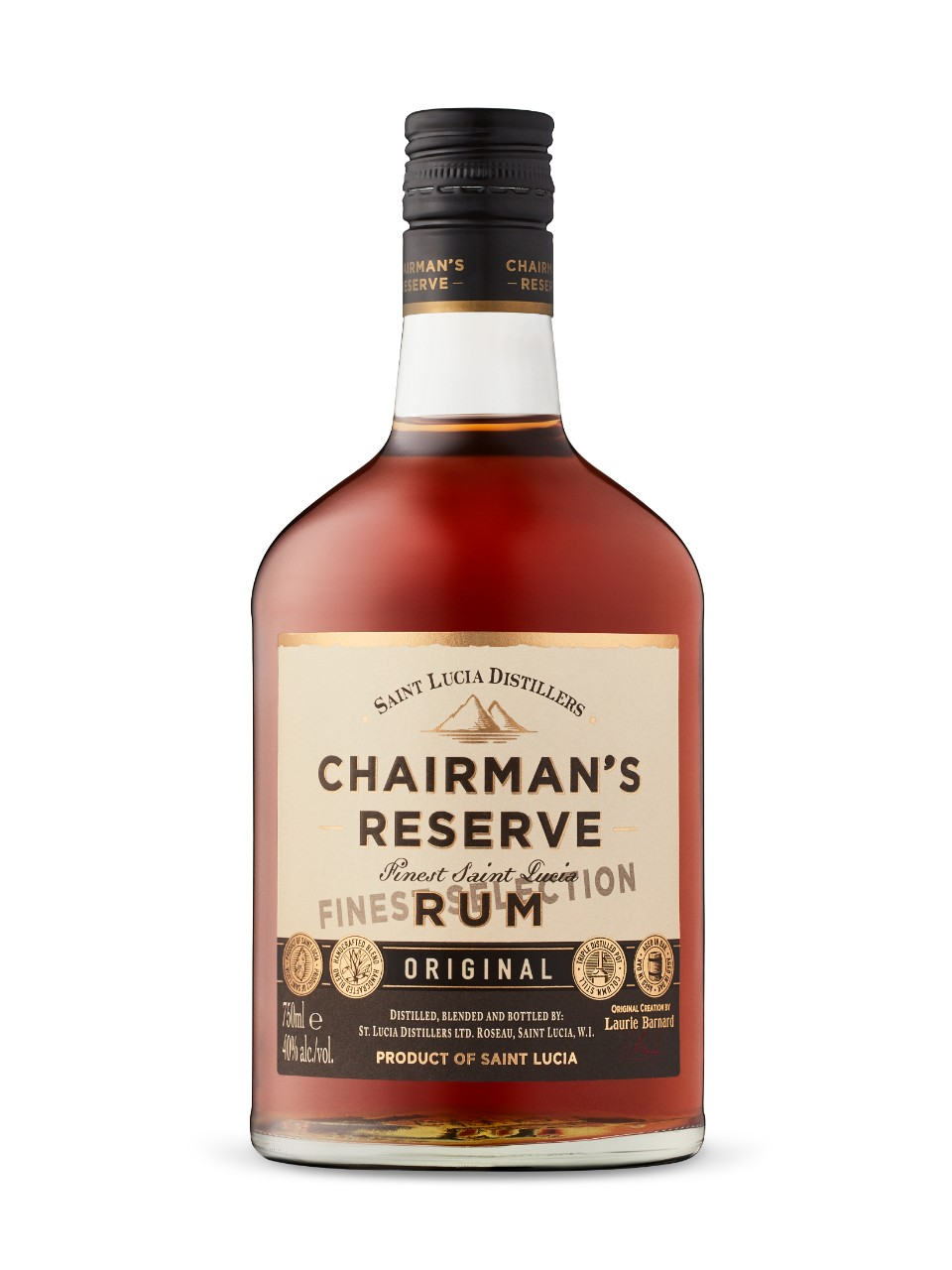 Image for Chairman's Reserve Finest Saint Lucia Original Rum from LCBO