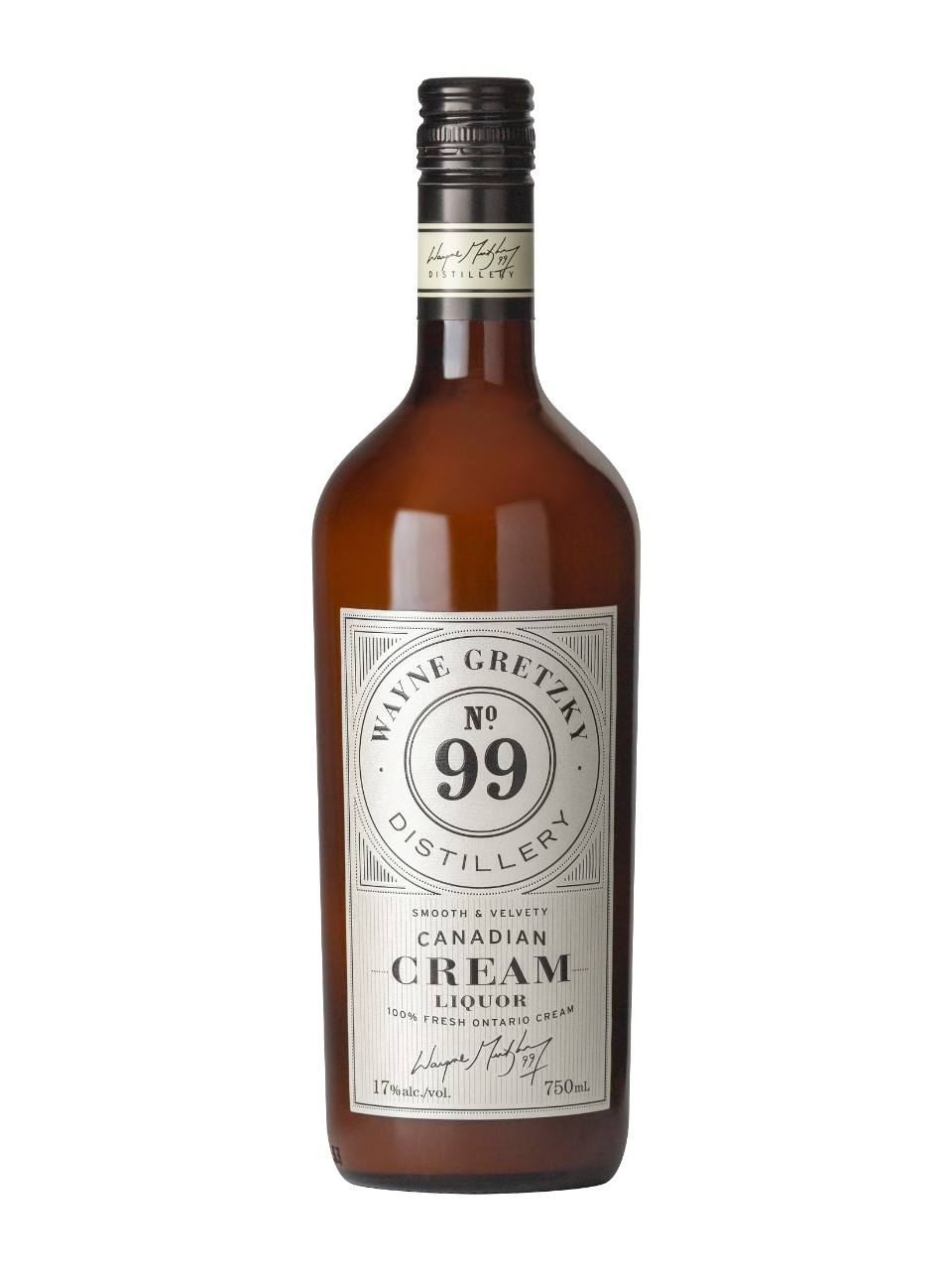 Image for Wayne Gretzky Canadian Cream Whisky from LCBO