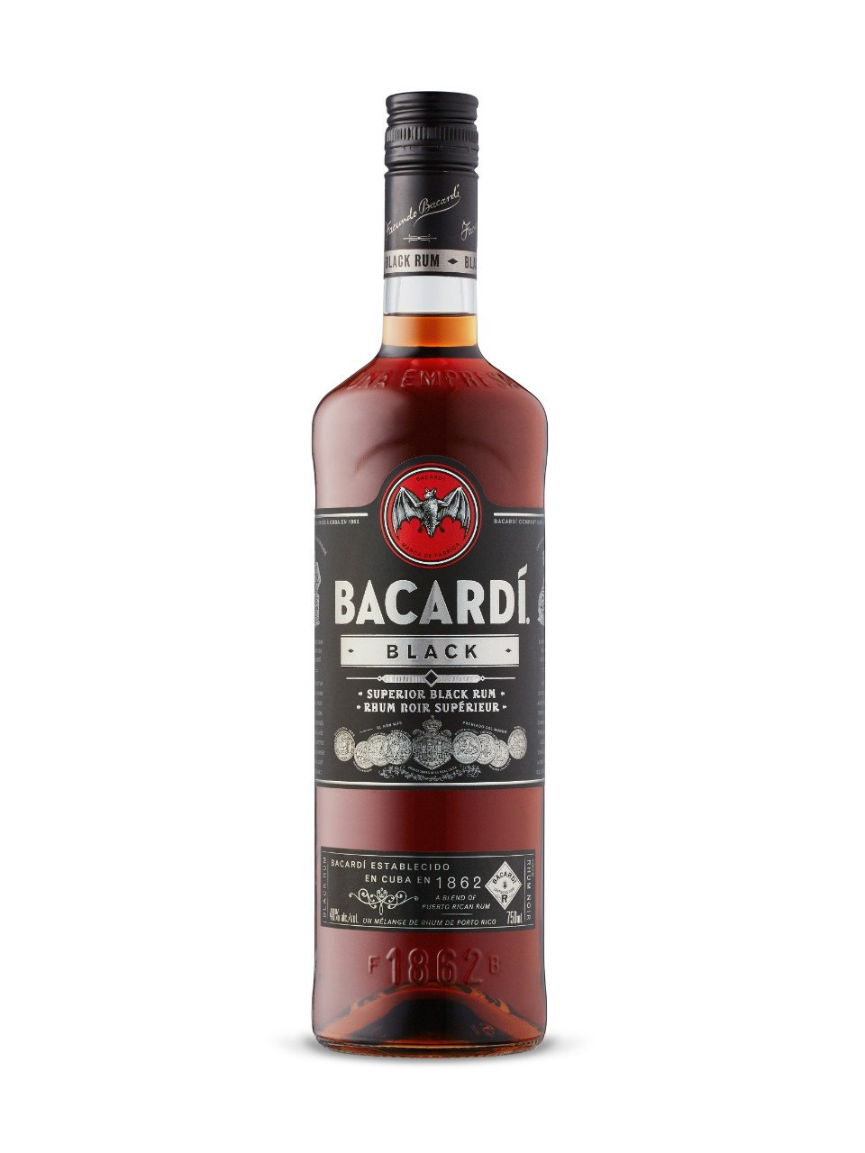 Image for Bacardi Black from LCBO