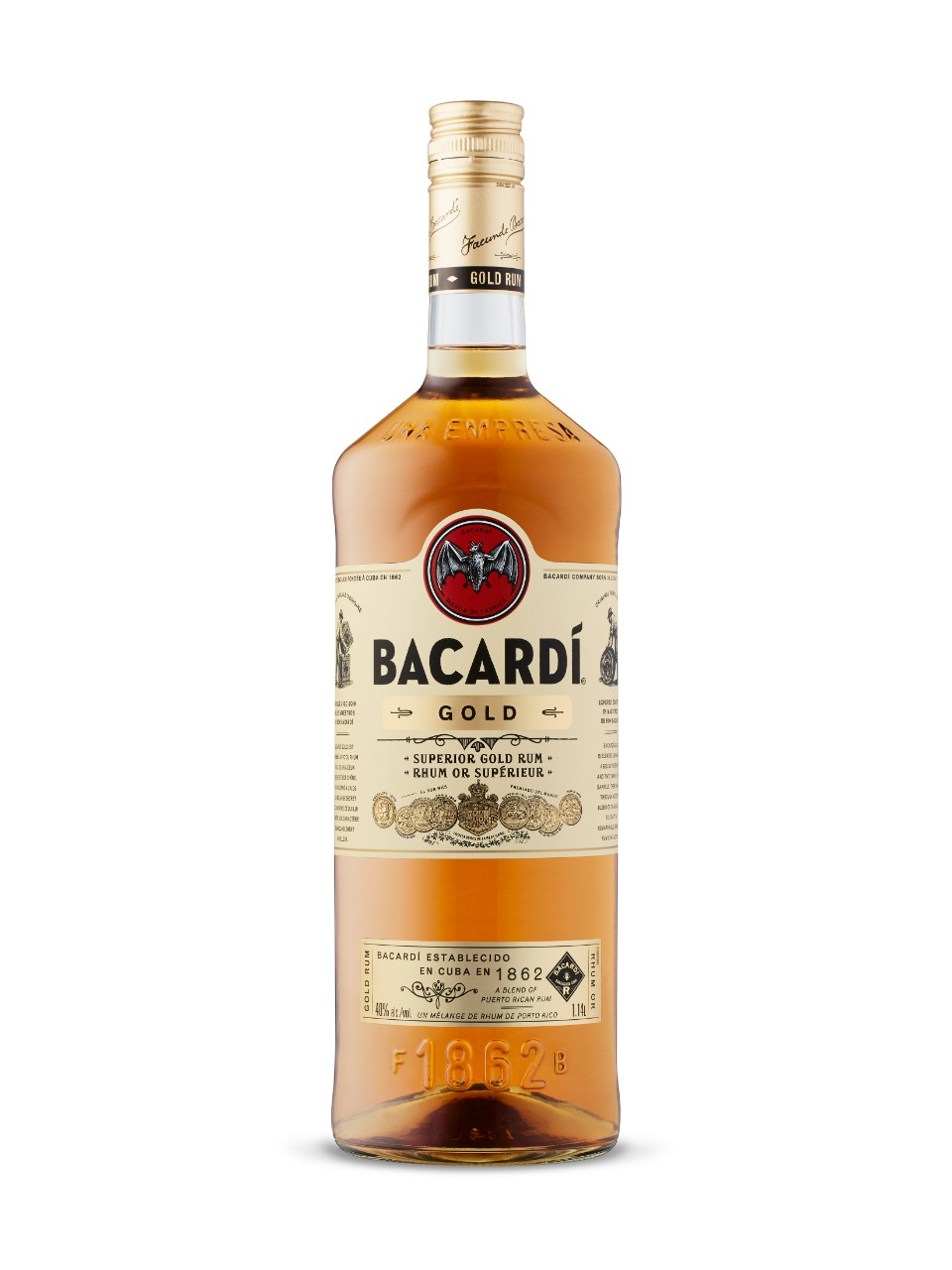 Image for Bacardi Gold from LCBO