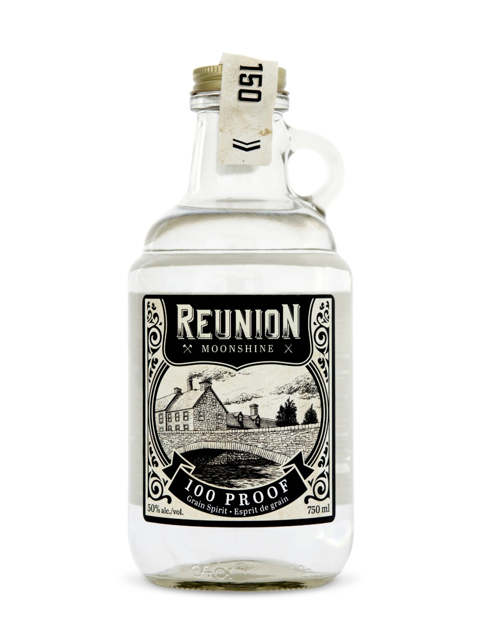 Image for Reunion 100 Proof Moonshine from LCBO