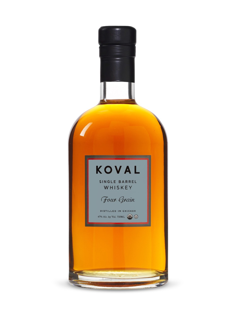 Image for Koval Organic Single Barrel Four Grain Whiskey from LCBO