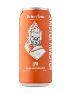 Brimstone Brewing Sinister Minister IPA