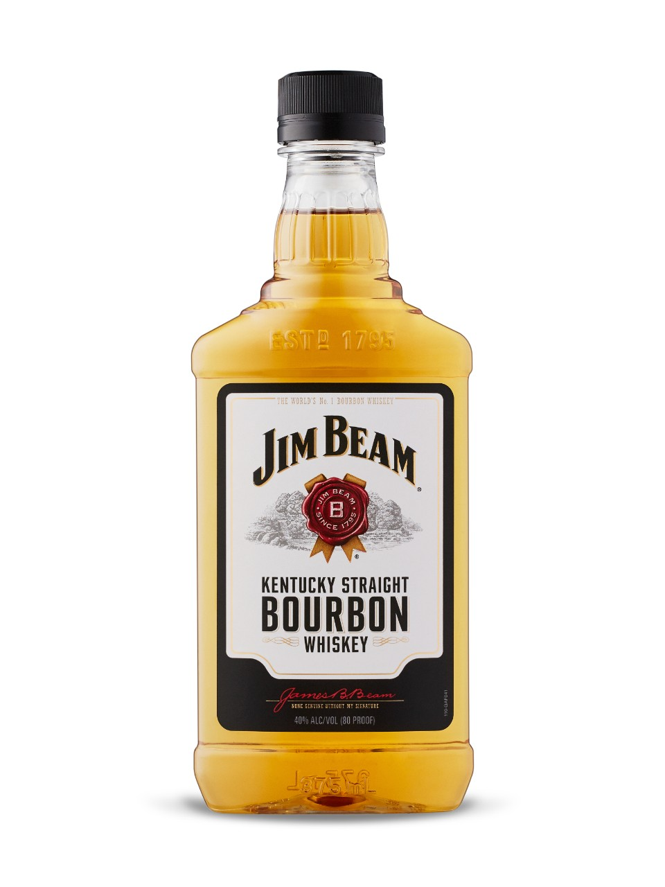 Image for Jim Beam White Label Bourbon (PET) from LCBO