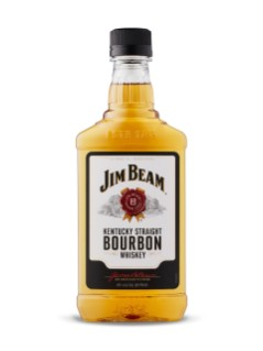 Jim Beam White Label Bourbon (PET)
