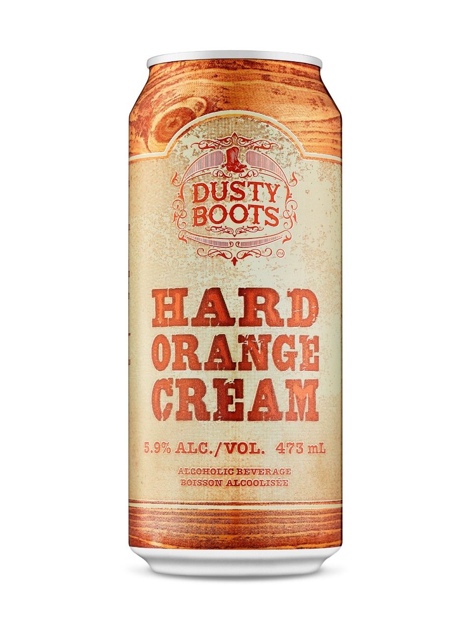 Dusty Boots Hard Orange Cream
