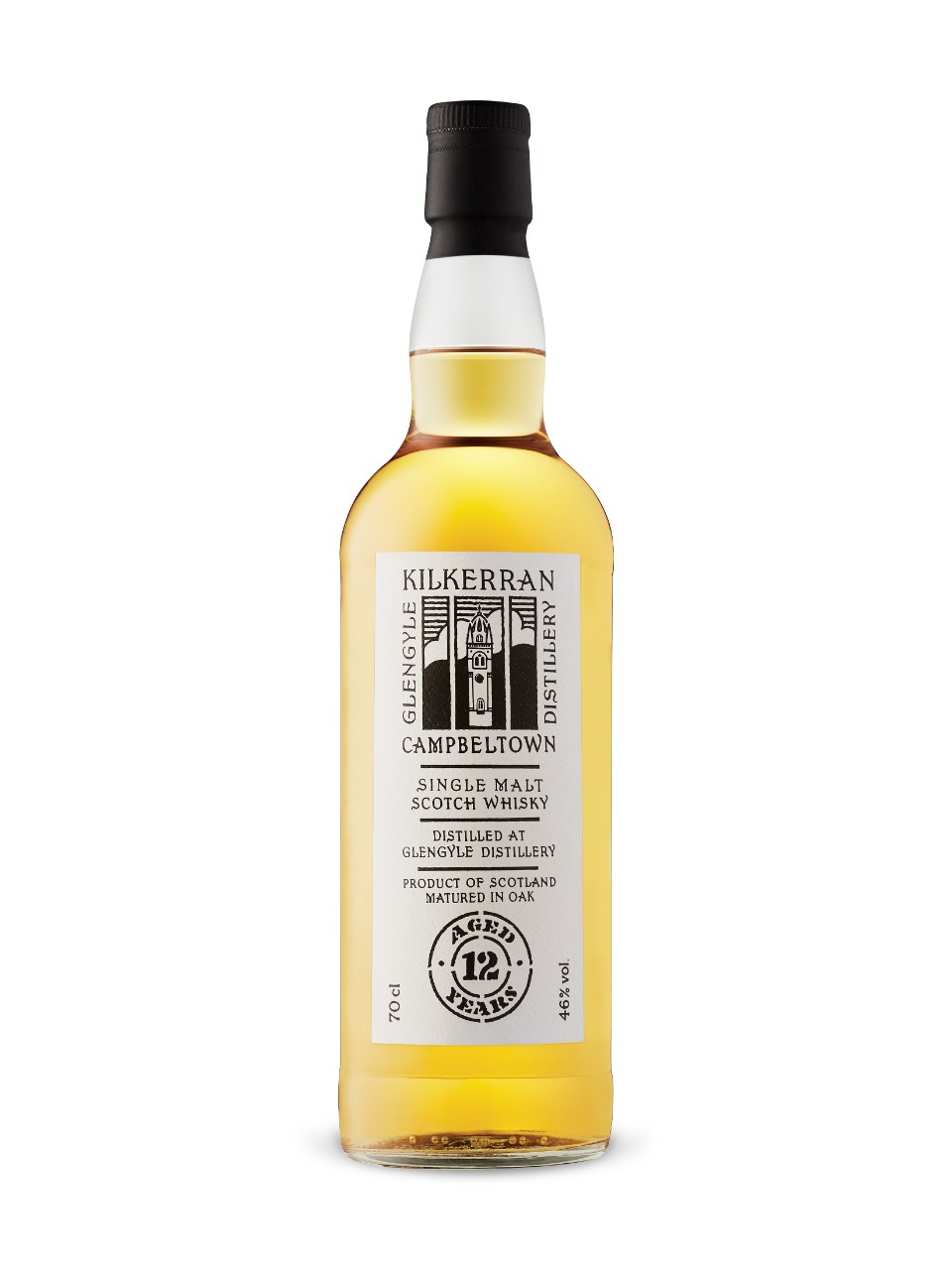 Kilkerran 12-Year-Old Campbeltown Single Malt Scotch Whisky