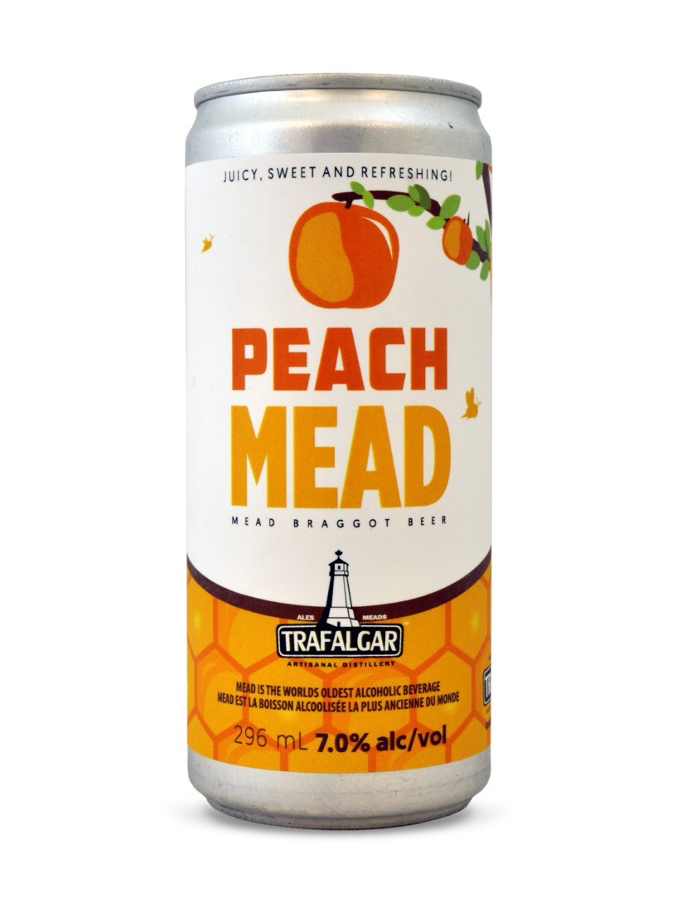 Image for Trafalgar Peach Mead from LCBO
