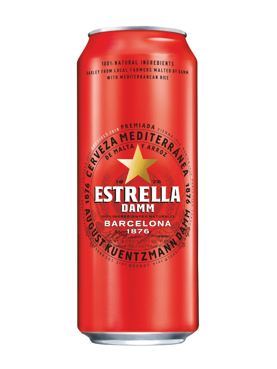 Image for Estrella Damm Lager from LCBO