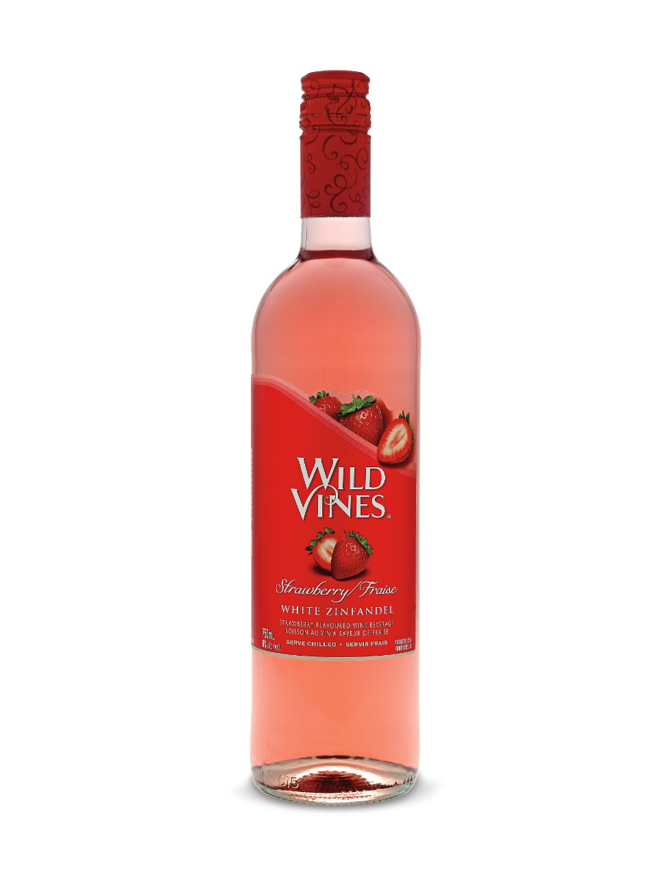 Wild Vines Strawberry White Zinfandel from LCBO