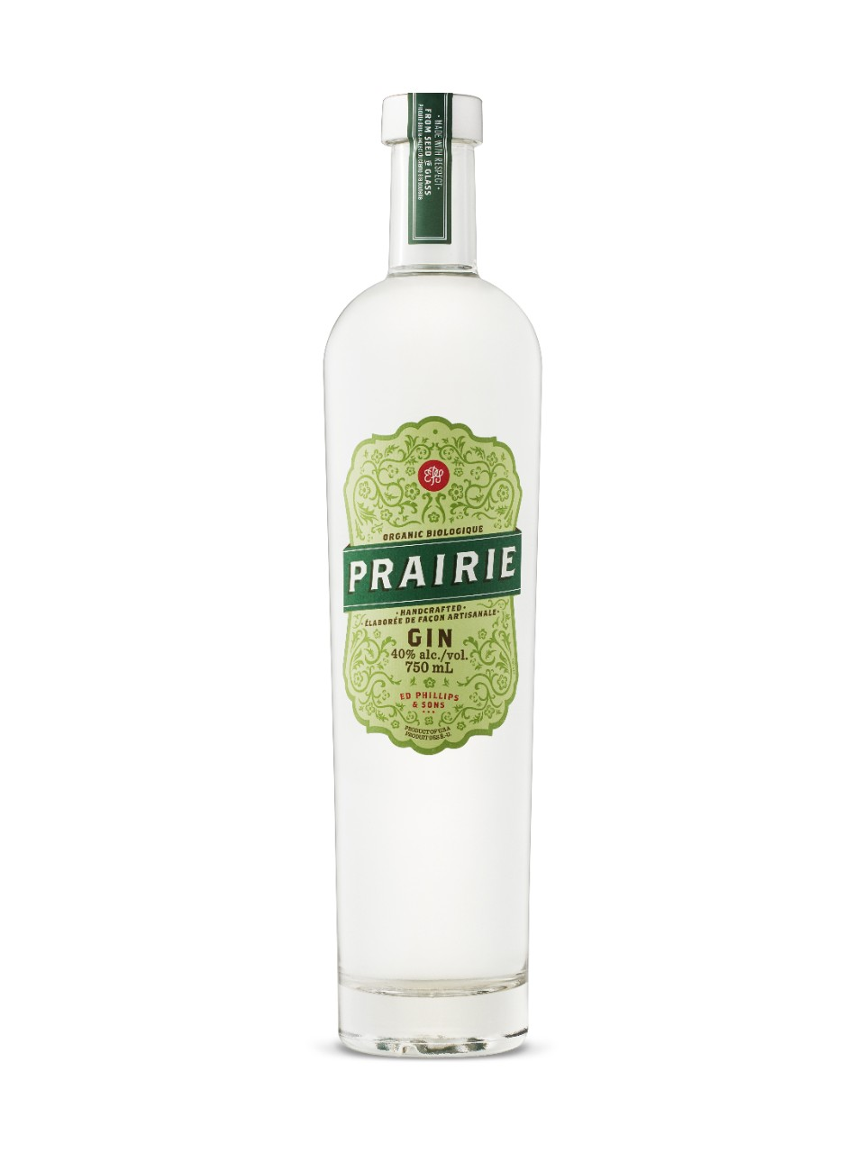 Image for Prairie Organic Gin from LCBO