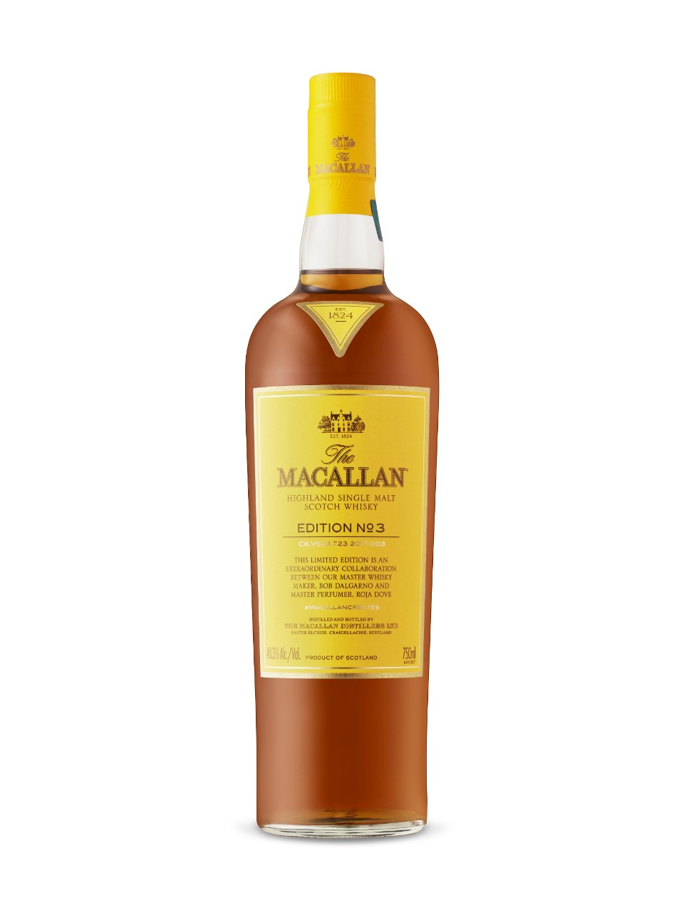 Image for Macallan Edition No. 3 Highland Single Malt Scotch Whisky from LCBO