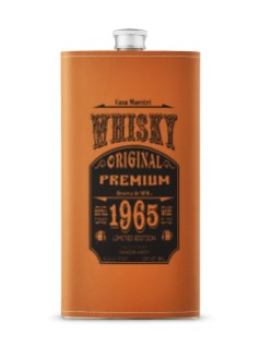 Maestri 1965 Whiskey Flask