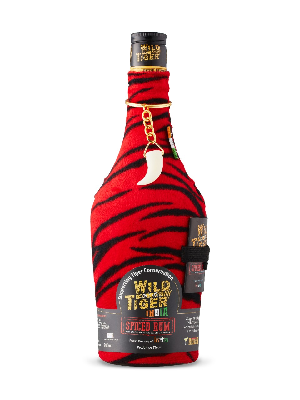 Image for Wild Tiger India Spiced Rum from LCBO