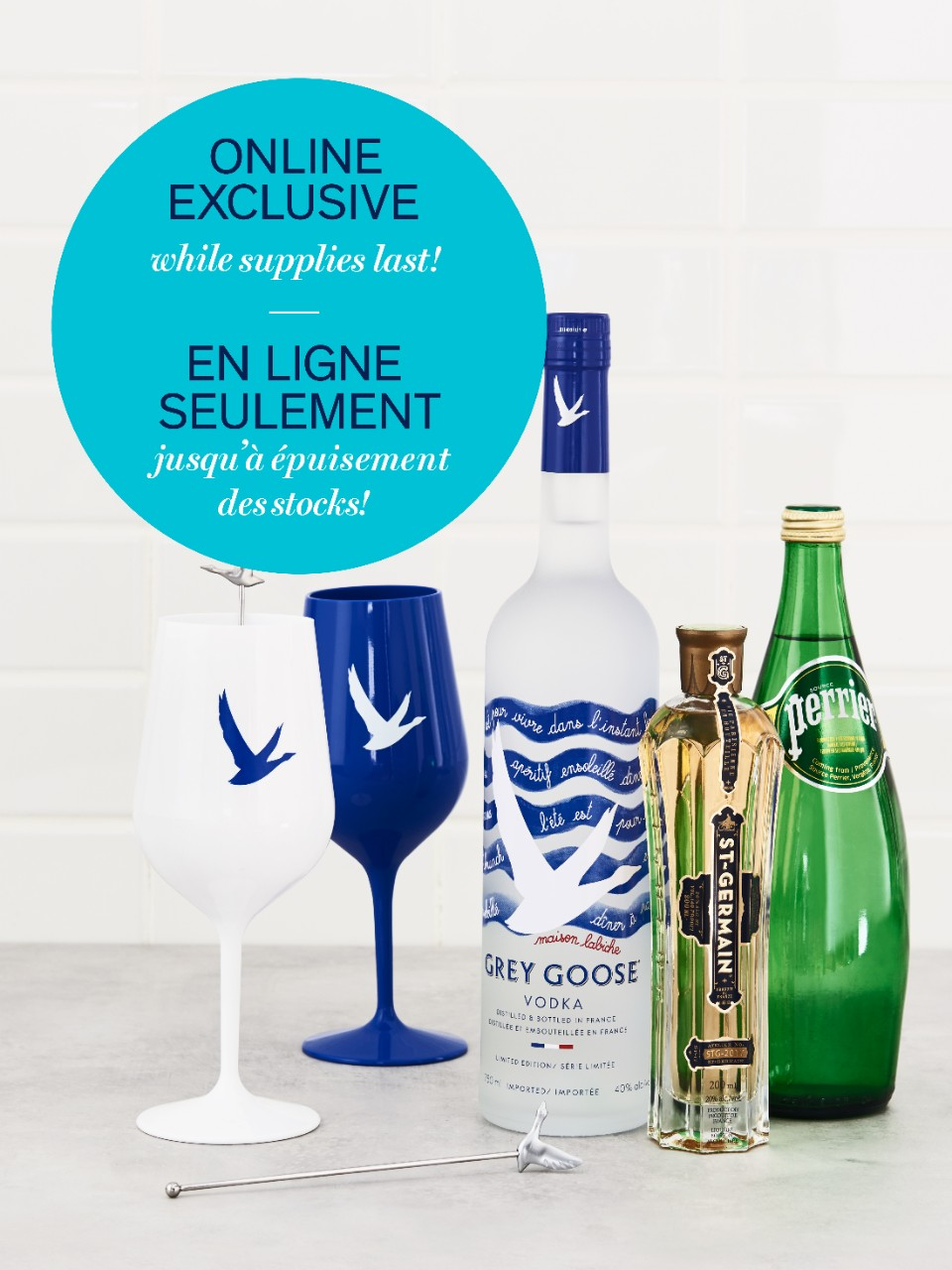Image for Grey Goose & St-Germain Vodka Gift Pack from LCBO