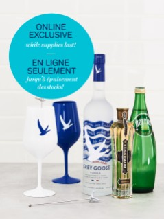 Grey Goose & St-Germain Vodka Gift Pack