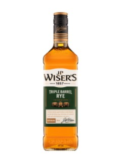 J.P. Wiser's Triple Barrel Rye Whisky