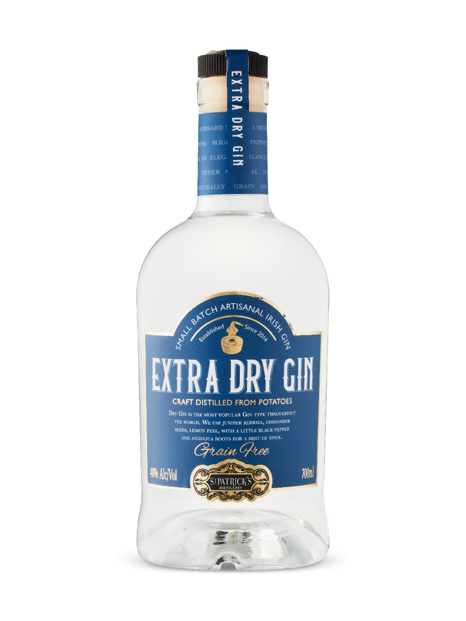 Image for St Patricks Distillery Extra Dry Gin from LCBO