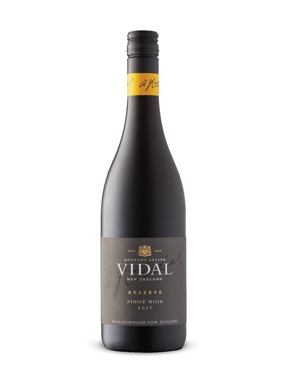 Vidal Reserve Pinot Noir from LCBO