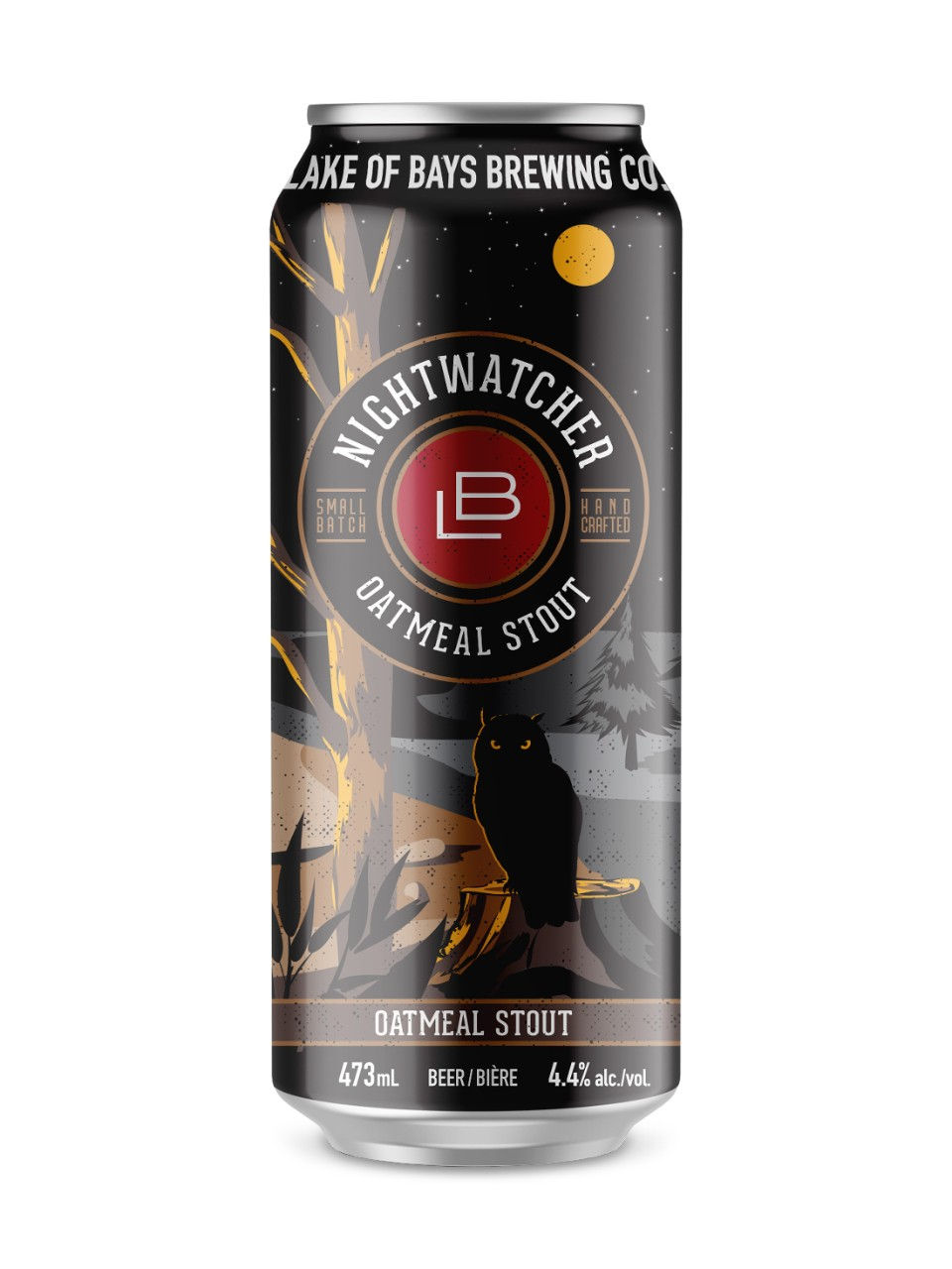 Image for Lake Of Bays Nightwatcher Oatmeal Stout from LCBO