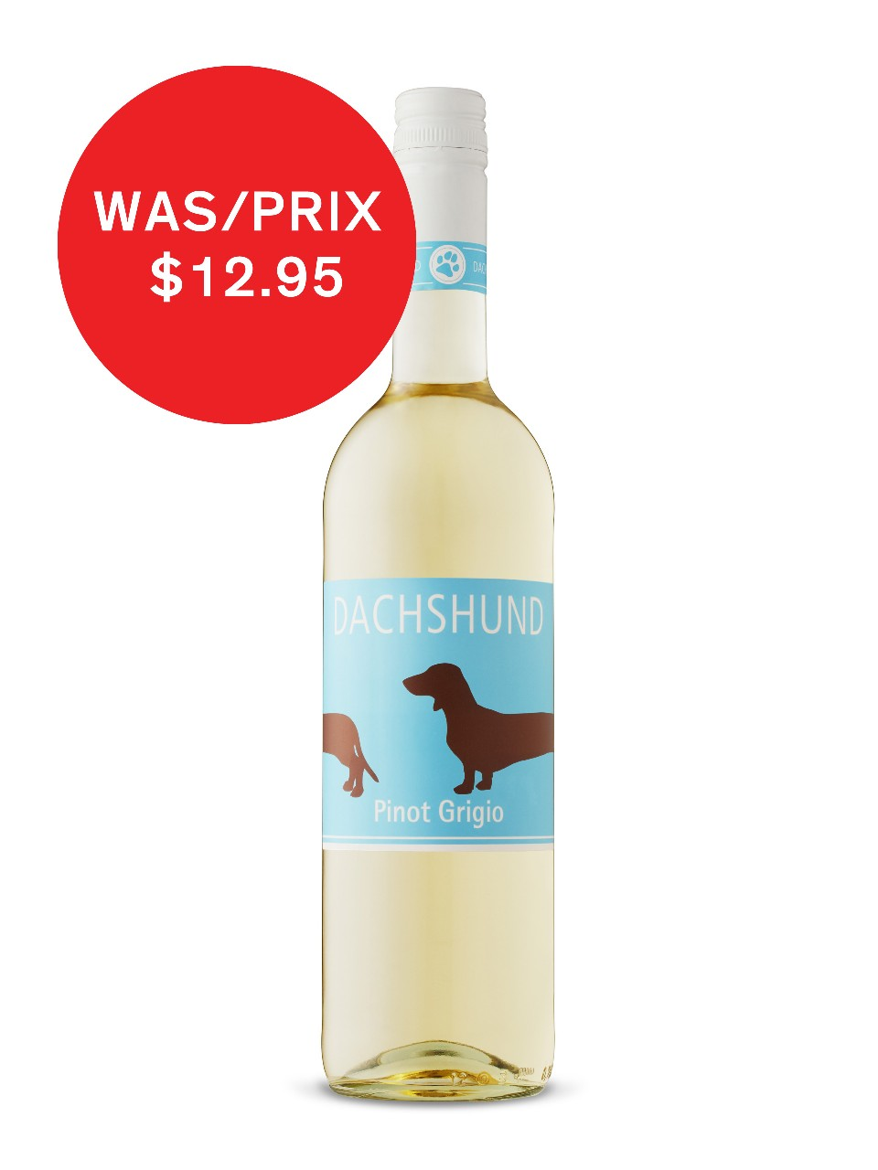 Image for Dachshund Pinot Grigio from LCBO