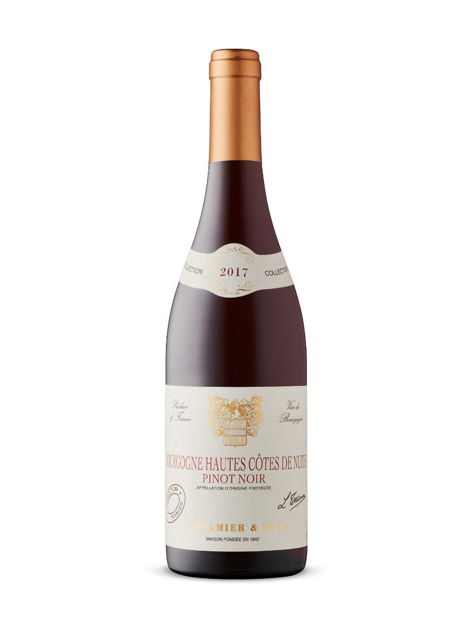 Image for Tramier Hautes Cotes de Nuits 2017 from LCBO