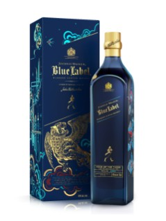 Johnnie Walker Blue Label Scotch Whisky Chinese New Year Edition
