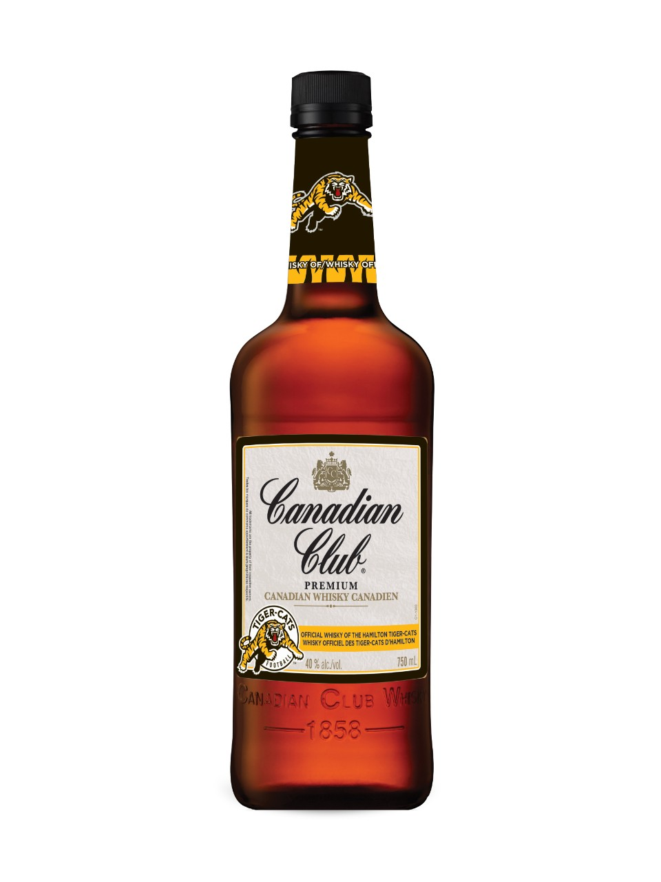 Image for Canadian Club Whisky Hamilton Tiger-Cats Edition from LCBO