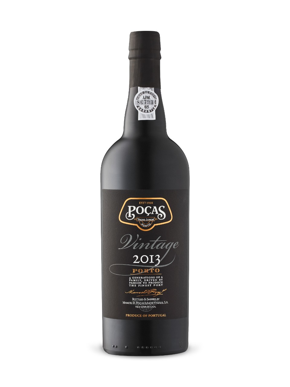 Image for Poças Junior Vintage Port 2013 from LCBO