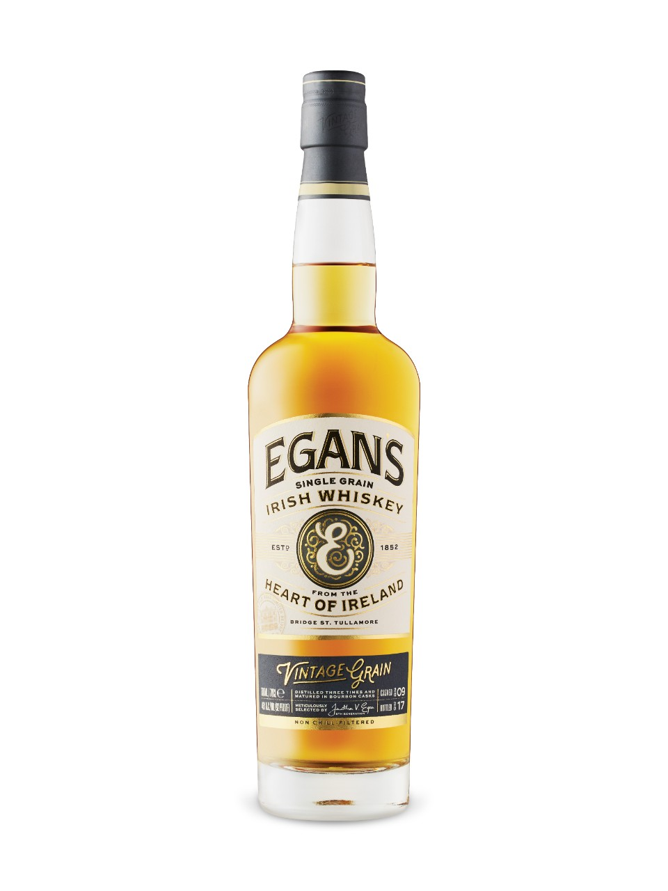 Whiskey irlandais Single Grain Egan's Vintage