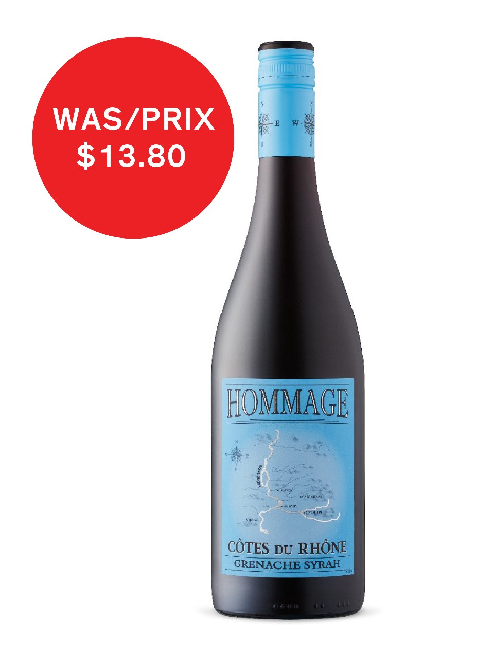 Image for G. Meffre Hommage Cotes Du Rhone Aop from LCBO