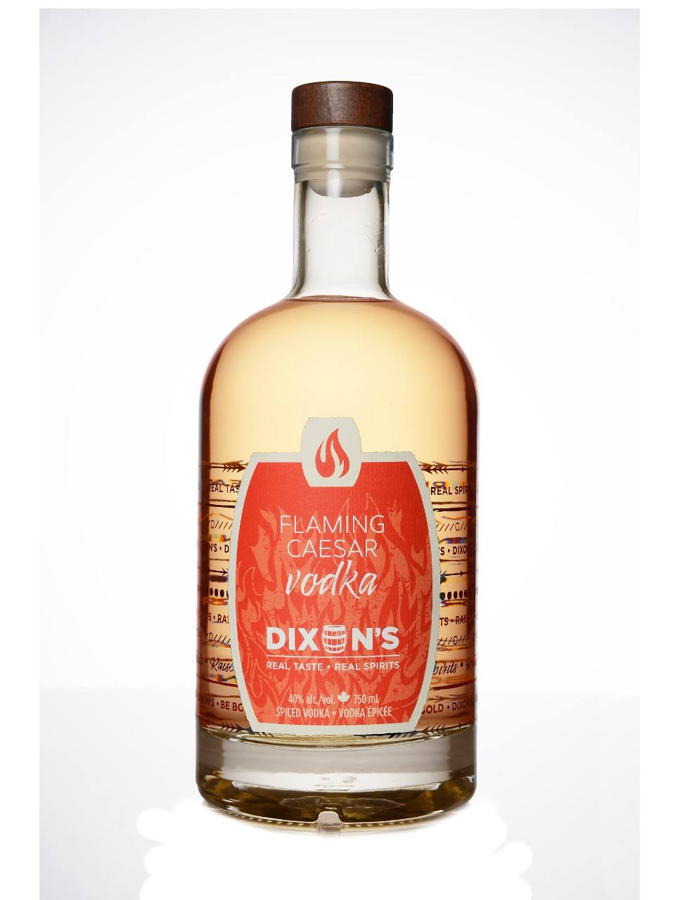 Image for Dixon's Flaming Caesar Vodka from LCBO