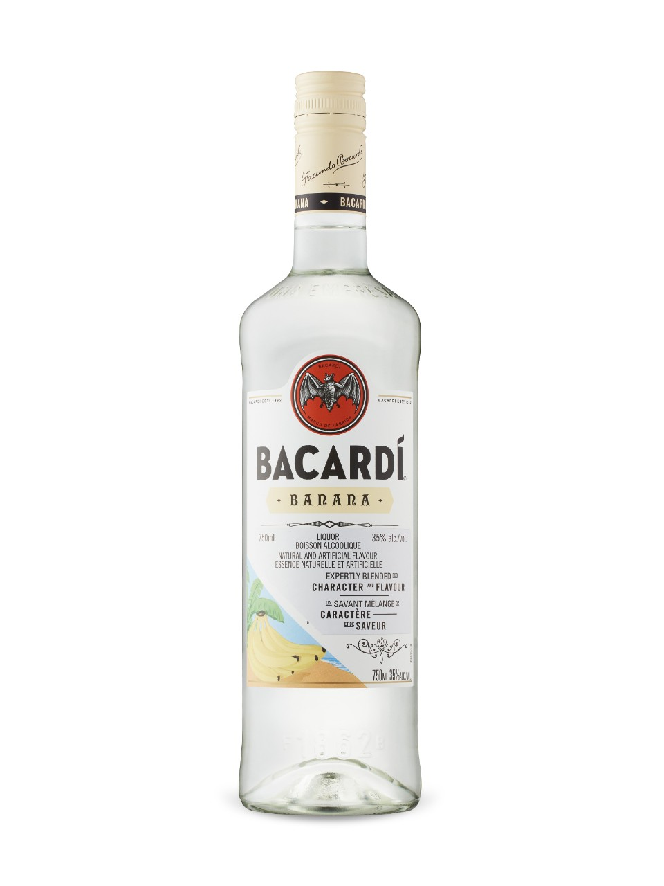 Image for Bacardi Banana Rum from LCBO