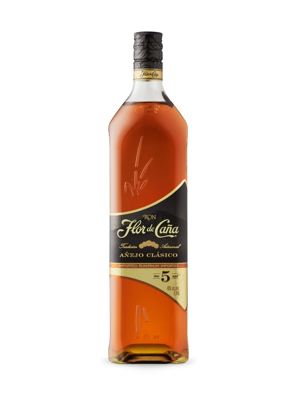 Image for Flor de Cana Anejo Clasico 5 from LCBO