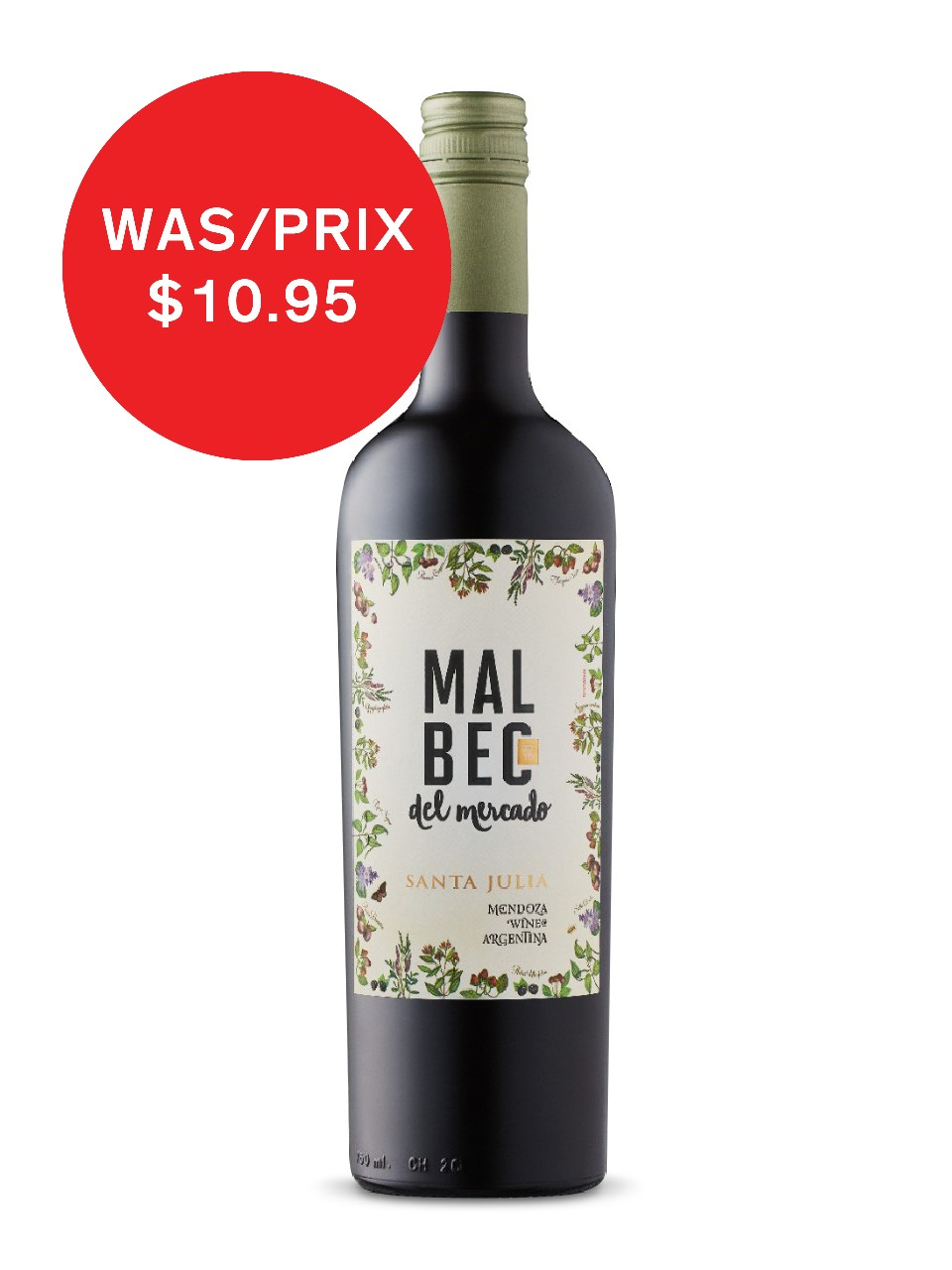Image for Santa Julia Malbec Del Mercado from LCBO