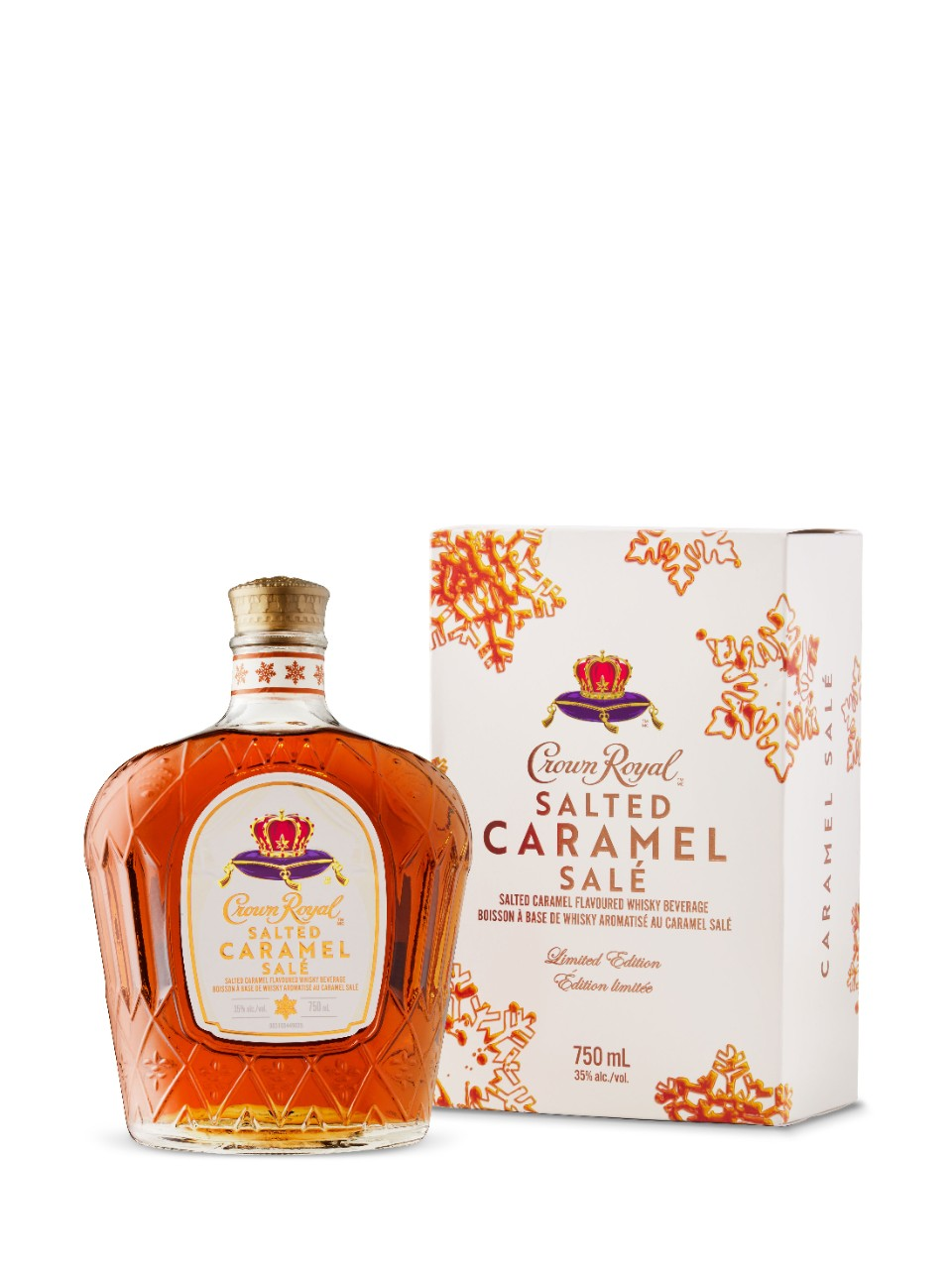 Whisky canadien aromatisé Crown Royal Caramel salé