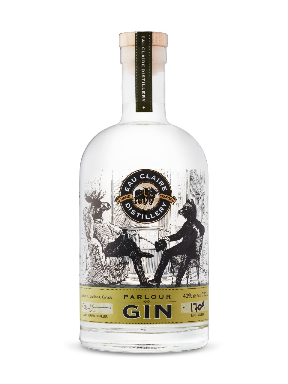 Image for Eau Claire Distillery Parlour Gin from LCBO