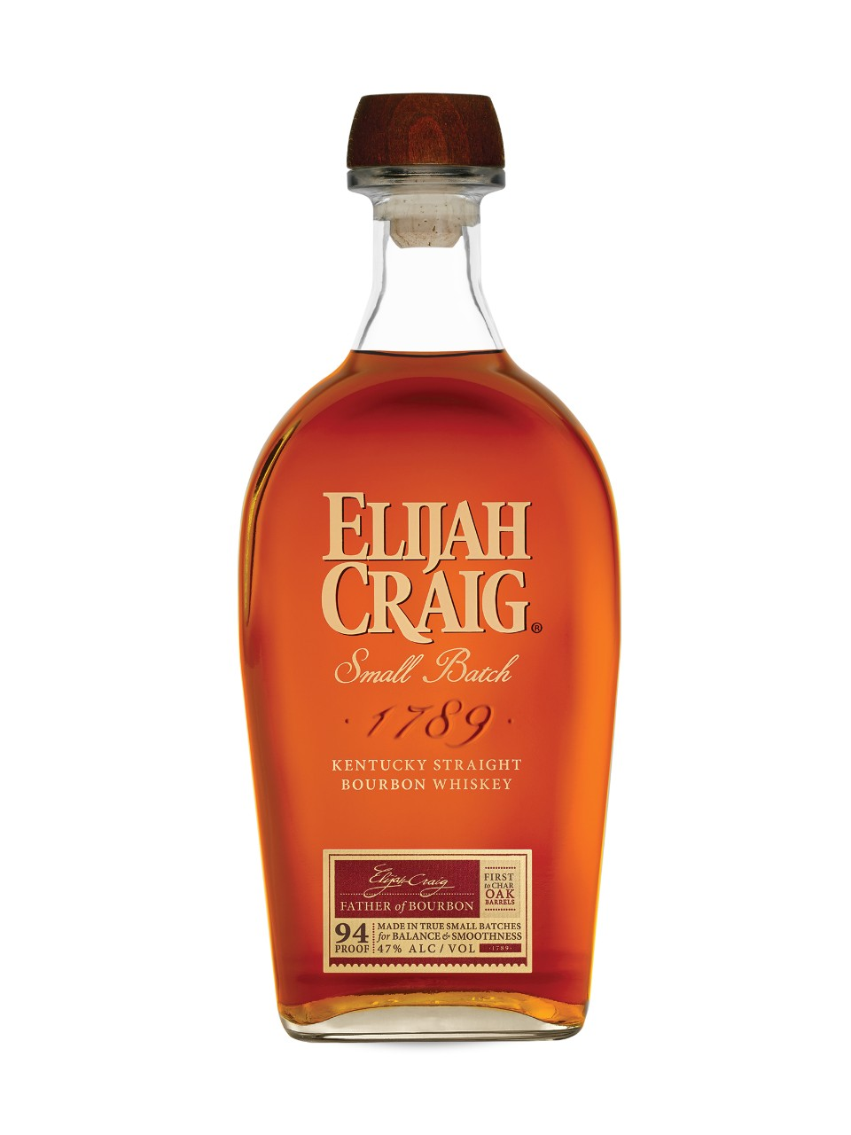 Image for Elijah Craig Small Batch Bourbon Whiskey from LCBO
