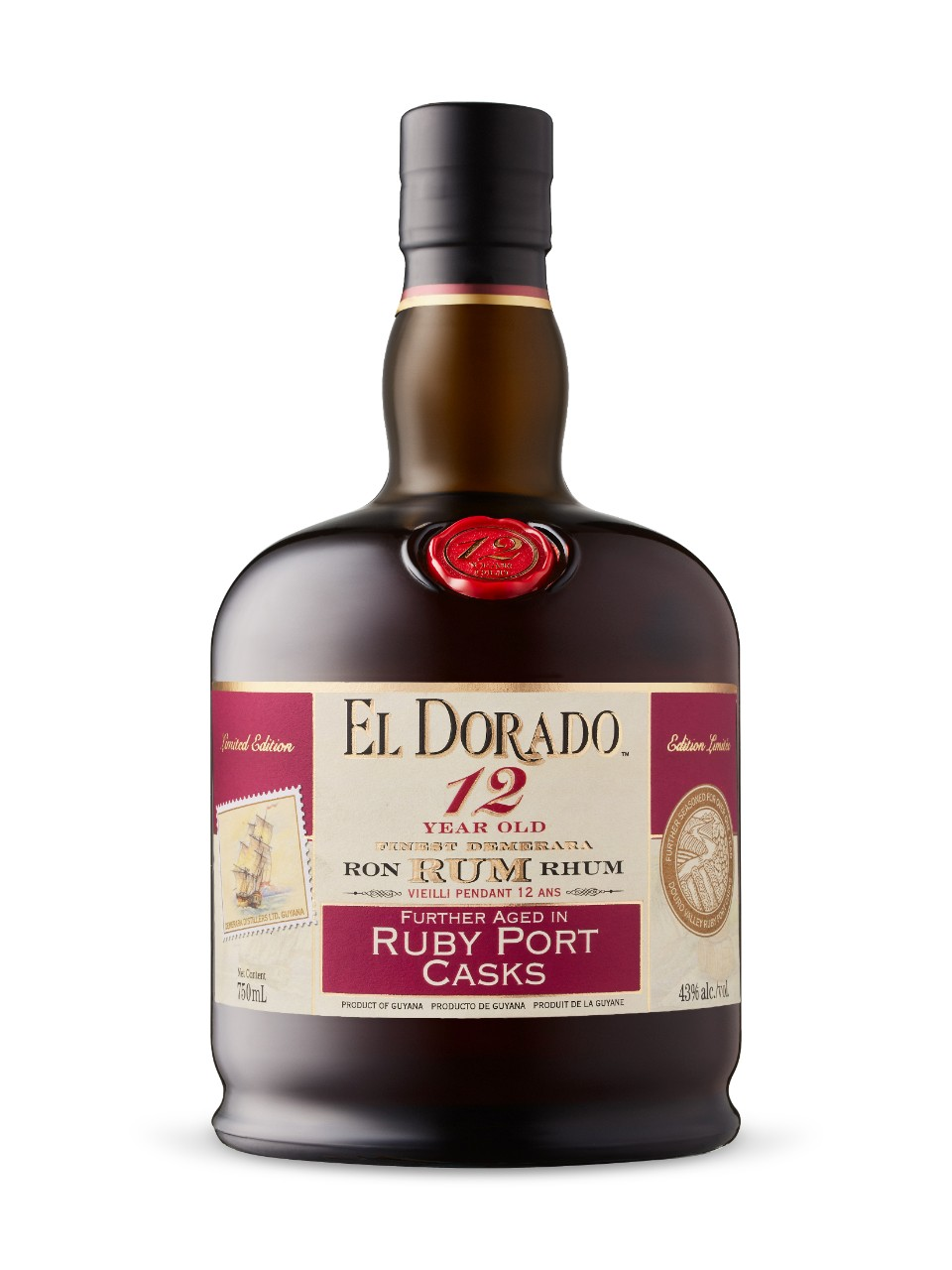 Image for El Dorado12 Year Old Ruby Port Special Cask from LCBO