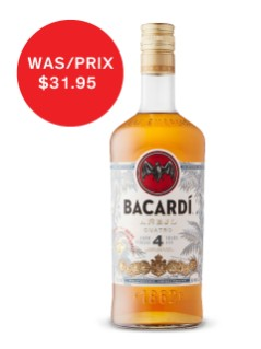 Bacardi 4 Year Old Anejo Rum