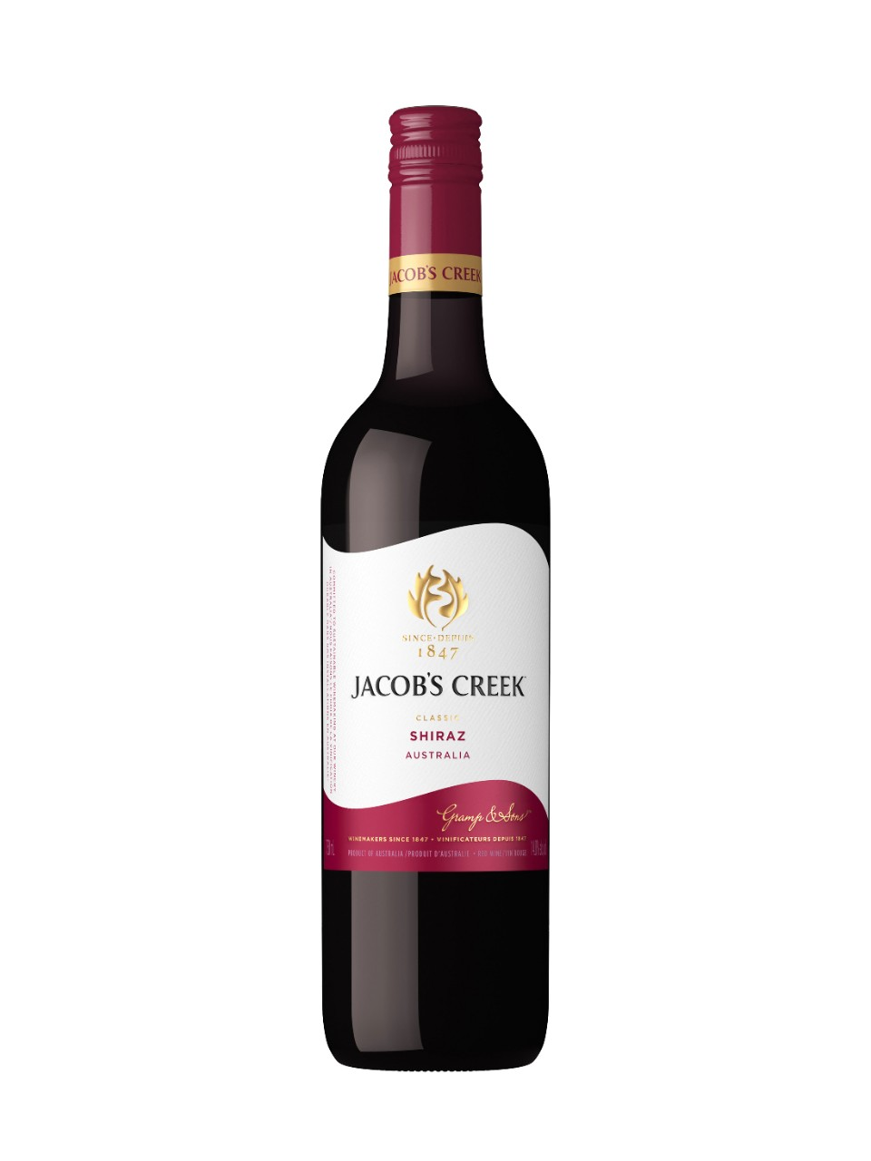 Image for Jacob's Creek Shiraz from LCBO