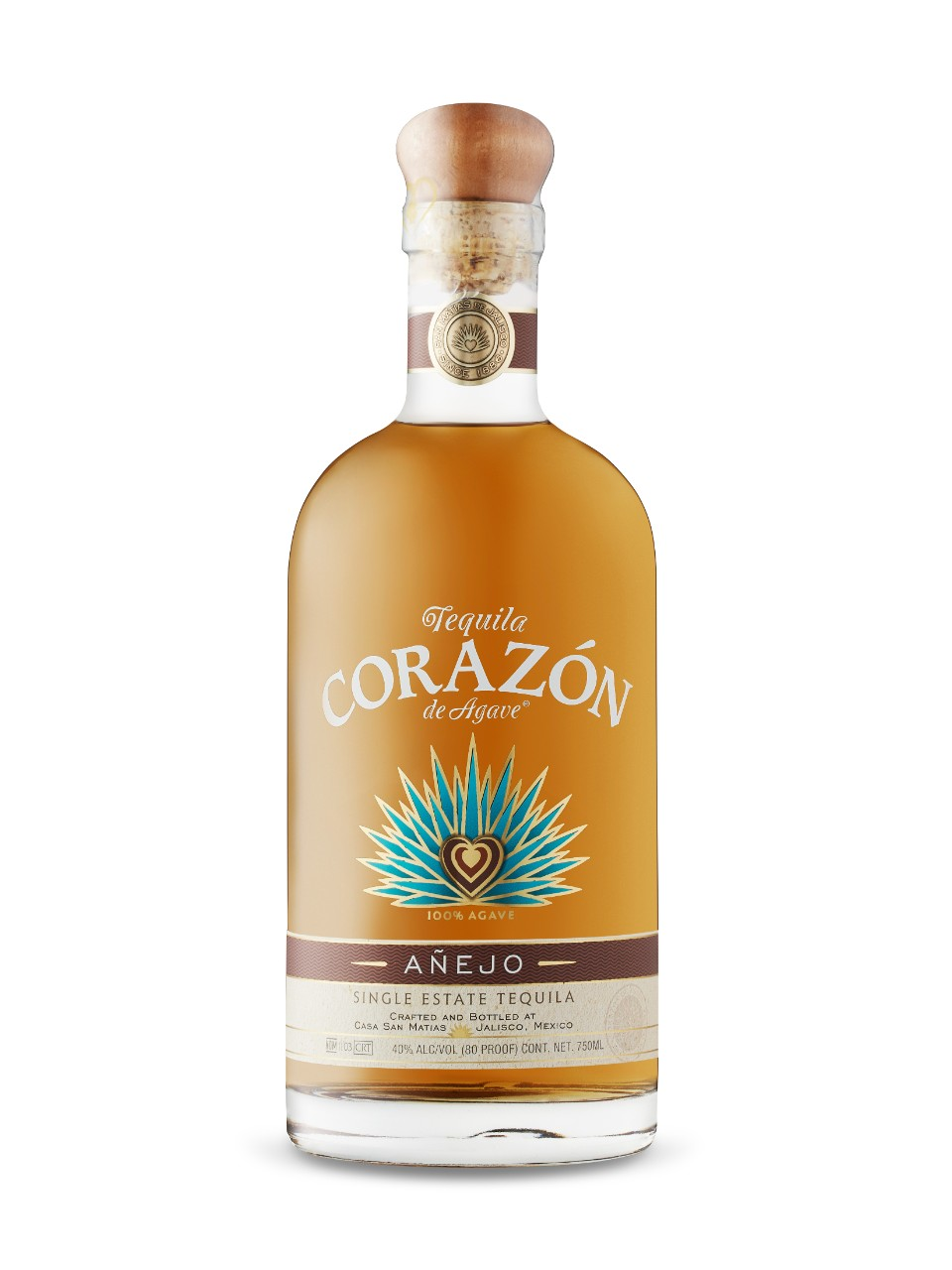 Image for Corazon Anejo Tequila from LCBO