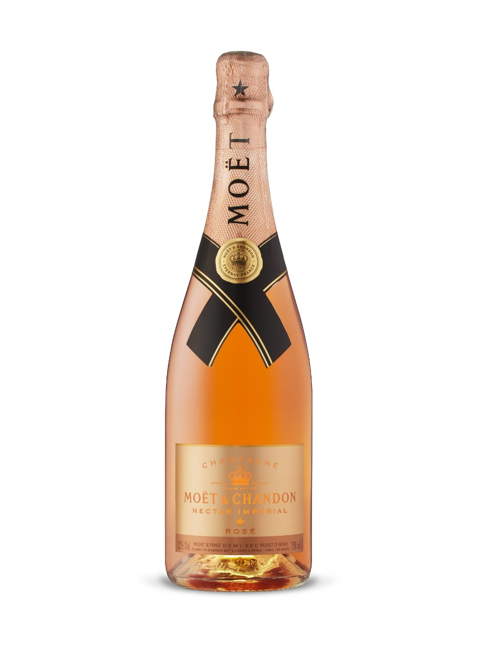Image for Moet & Chandon Nectar Imperial Rose from LCBO