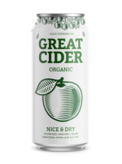 Great Canadian Cider Co. Nice & Dry Organic Cider