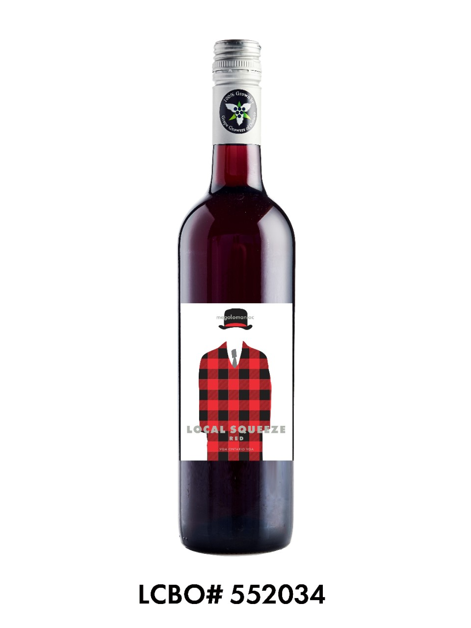 Image for Megalomaniac Local Squeeze Red from LCBO
