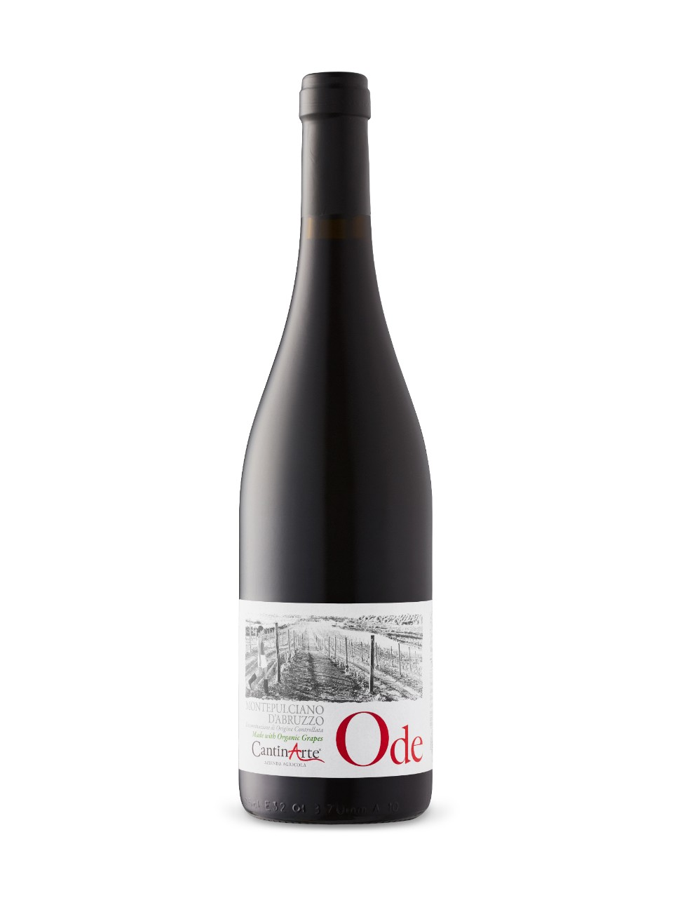 Image for Cantin Arte Montepulciano D'Abruzzo Ode DOC 2015 from LCBO