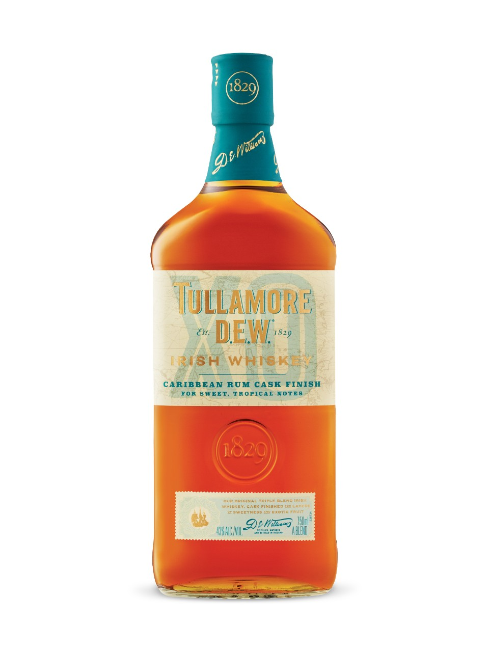 Image for Tullamore DEW XO Rum Cask Irish Whiskey from LCBO