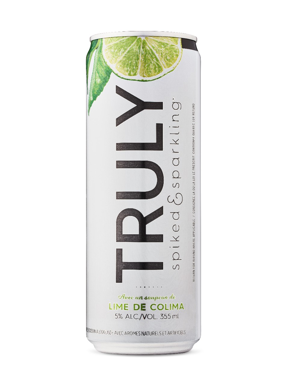 Image for Truly Spiked & Sparkling Water - Colima Lime from LCBO